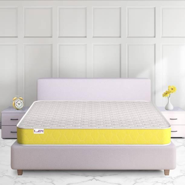 SleepX Half-Half Ortho Firm and Gentle 6 inch Queen Memory Foam Mattress