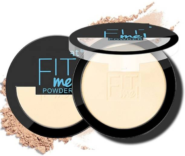 MIKARA FIT ME COMPACT PERFECT MATTE AND SHIMMER COMPACT POWDER Compact