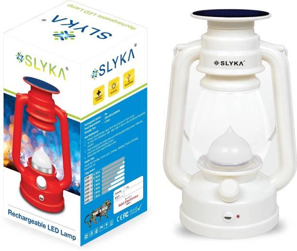 SLYKA White Plastic Table Lantern