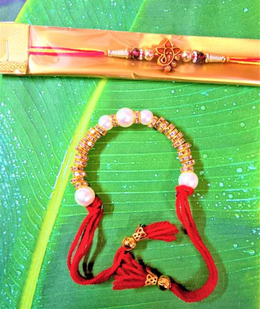 WONDERHOME Religious Rakhi, Lumba  Set