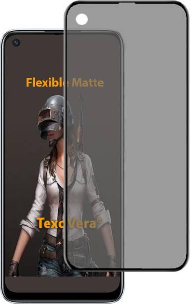 TexoVera Edge To Edge Tempered Glass for Realme 6, oppo a52, opoo a72, Oppo A92, Oppo A32, Oppo A33, Oppo A73, Oppo 74 5G, Realme 7, Realme 7i, Realme 8 5G, Realme C17, Realme Narzo 20 pro, Realme Narzo 30 pro 5G, oneplus 8t Matte (Flexible)