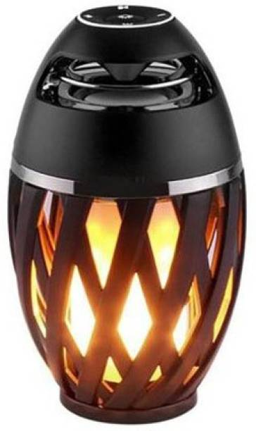 F FERONS Flame Lamp Bluetooth Speaker Outdoor Party Camping Music Player with LED Flickers Lights for Phone Android DHL Fast Shipping 5 W Bluetooth Speaker