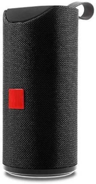 wazny Like Dj Sound Power Boost High Sound Blast With Ultra 3D Bass New Arrival TG113 Splashproof Mini Dynamite Wireless Bluetooth Speaker for car/laptop/home audio & gaming With usb/fm/tf card & line in aux supported Speaker 10 W Bluetooth Speaker