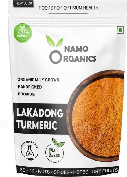 Namo organics 250 Gm High Curcumin Lakadong Turmeric Powder For Face & Daily Cooking