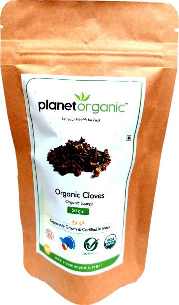 Planet Organic India Organic Clove