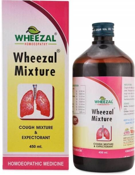 WHEEZAL Mixture Cough Mixture
