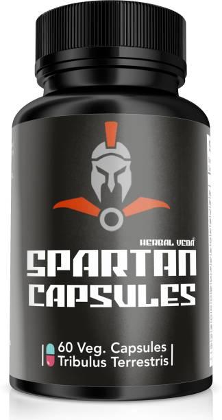 herbal veda SPARTAN Capsules 60 cp For Men sexual power tablets for men sex power capsules for men