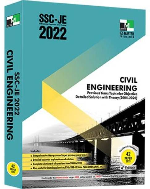 Ssce Je Civil Engineering 2022 Previous Year Topicwise Objective Detailed Solution with Theory(2004-2020)
