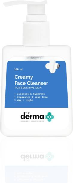 The Derma Co Creamy Cleanser for Sensitive Skin