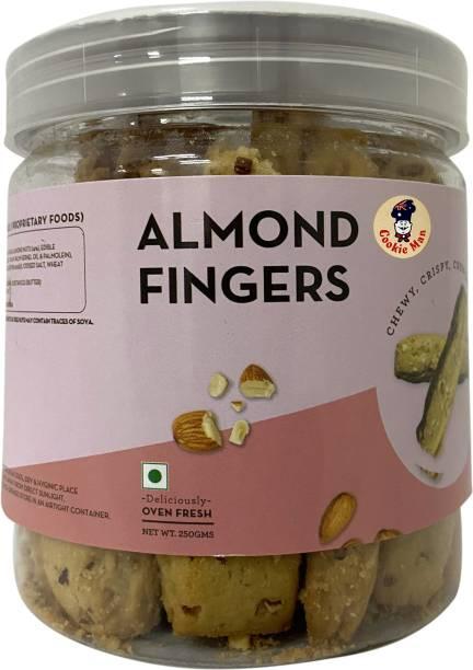Cookieman Almond Fingers Cookies