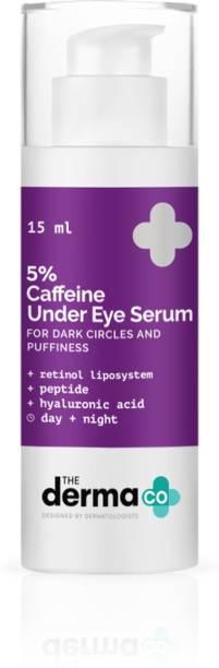 The Derma Co 5% Caffeine Under Eye Serum for Dark Circles & Puffiness