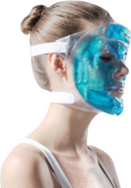 Skylight EXPHUB Hot Full-Face Mask is a dual-purpose, re-usable face and cosmetic mask that provides icy cool or soothing heat  Face Shaping Mask