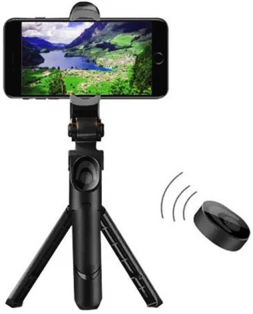 RichHood 3 in 1 Phone Handheld Gimbal Stabilizer with Bluetooth Wireless Remote, Auto Balance 360° Rotation Compatible with All Smart phone and camera Single Gimbal