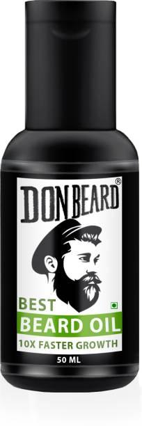 Donbeard Beard growth oil for men | Hair growth oil for men | For faster beard growth | For thicker and fuller looking DON beard | Best Beard Oil for Patchy Beard Hair Oil