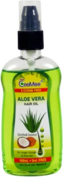 Ceemee Aloe Vera Enriched Coconut Hair Oil For Men & Women Hair Oil