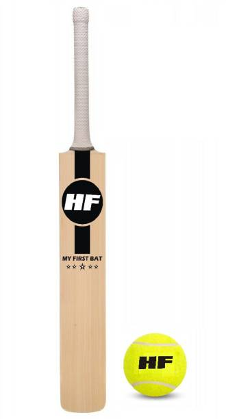 HF MY FIRST BAT Junior Cricket Bat Size 3 For Age Group 8 Years with 1 Piece Tennis Ball Cricket Kit