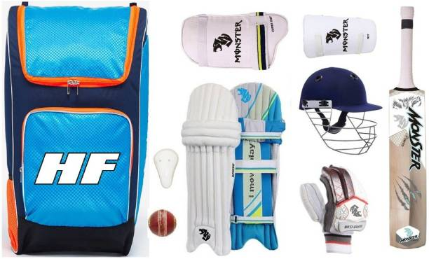 HF CAMOFLAGE CUSTOM BEST SELECTED FULL SIZE ( IDEAL FOR 15-21 YEARS ) COMPLETE Cricket Kit