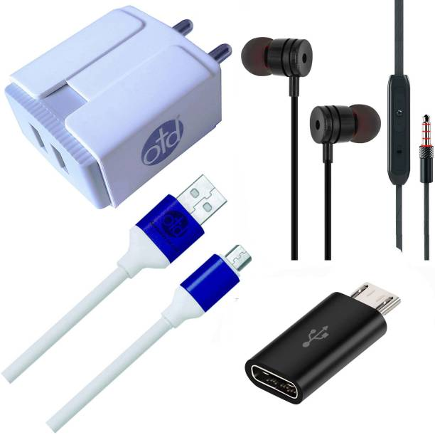 OTD Wall Charger Accessory Combo for STK Stk Life Plus S, Swipe Elite, Swipe Elite 2, Swipe Elite 3