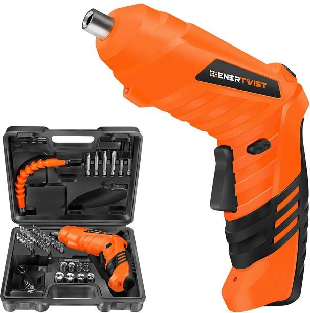 StayWay Electric Screwdriver,5Nm 46-Pieces Cordless Power Screwdriver with Rechargeable Battery, Carrying Case SCREWDRIVER CORDLESS Cordless Drill