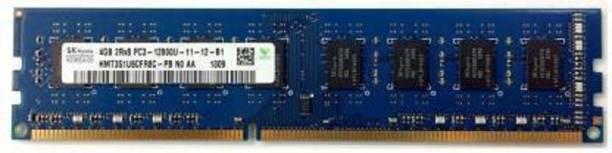 Hynix 1600/12800 DDR3 4 GB (Dual Channel) PC DRAM (HMT351U6CFR8C-H9 AA , DDR3 1600MHZ , 2RX8 4GB)