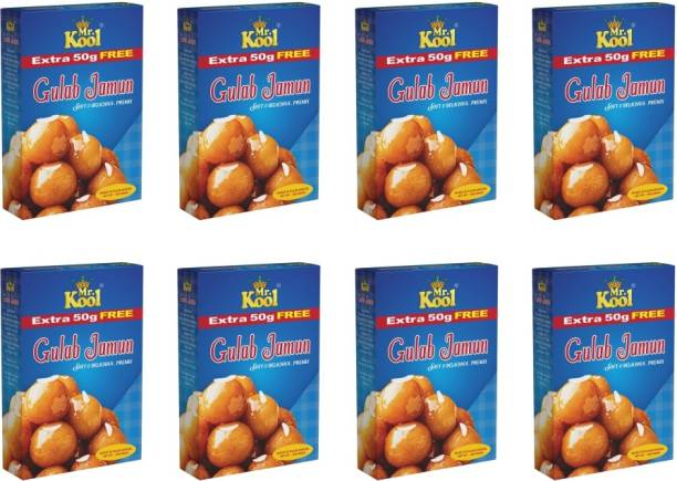 Mr.Kool Gulab Jamun soft and delicious Premix | (250GX8) | 2 kg