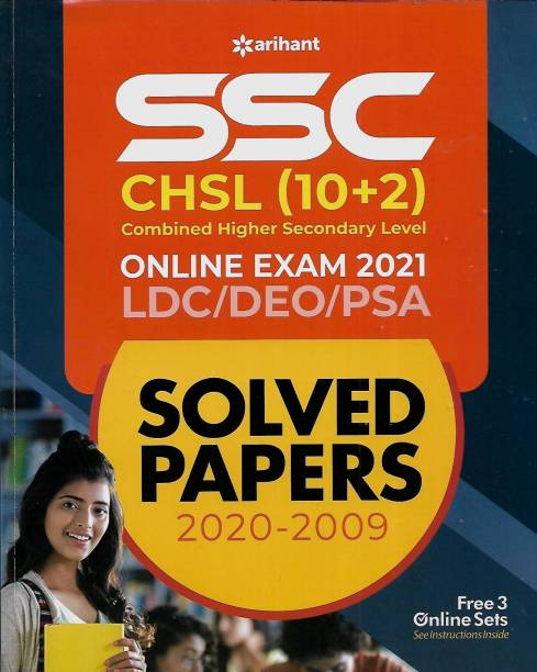 Arihant Ssc Chsl (10+2) Online Exam 2021 Ldc/deo/psa English Medium Arihant Publication (India) Limited