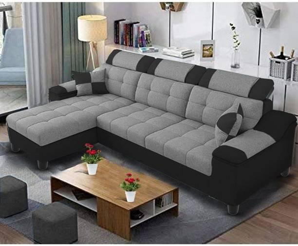 Braxton Fabric 4 Seater  Sofa