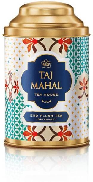 Taj Mahal Darjeeling 2nd Flush Black Tea Tin