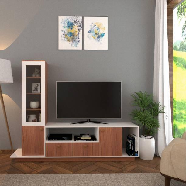 GUDSMITH Engineered Wood TV Entertainment Unit