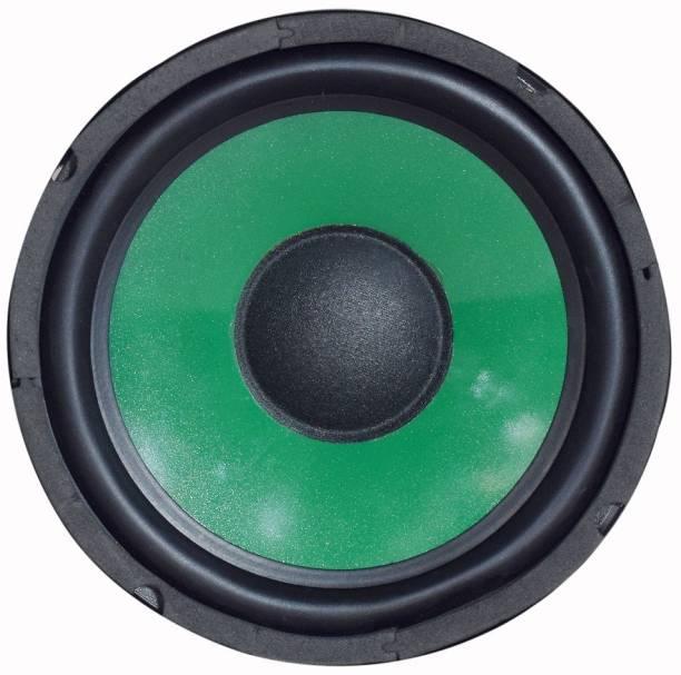 In-Foxe CarSubwoofer001Green Car Subwoofer Audio Speaker High Sound Bass (Green) Subwoofer Car Speaker (Green, Stereo Channel) Subwoofer