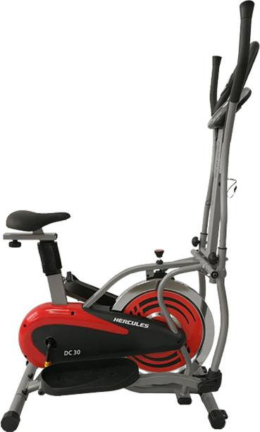 Hercules Fitness Elliptical Cross trainer for home with steel flywheel for home use Cross Trainer