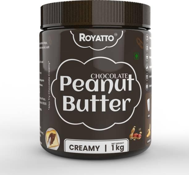 Royatto Chocolate Peanut Butter ( Creamy & Soft) 1 KG 1 kg
