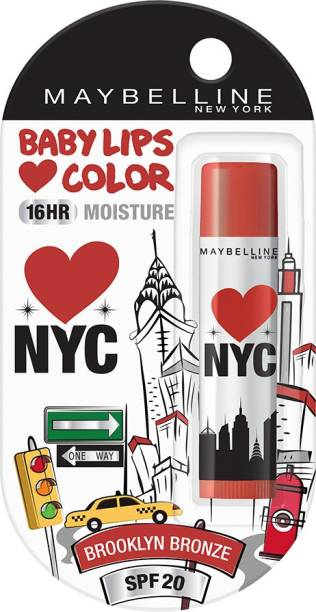 MAYBELLINE NEW YORK Alia Loves NY Lip Balm Brooklyn Bronze