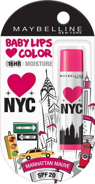 MAYBELLINE NEW YORK Alia Loves NY Lip Balm manhattan mauve