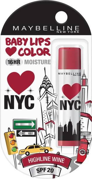 MAYBELLINE NEW YORK Baby Lips Loves NYC Lip Balm High line wine