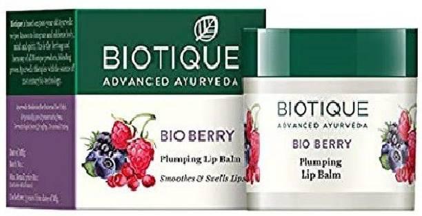 BIOTIQUE Bio berry plumping lip balm Fruity