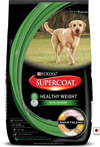 PURINA Supercoat Healthy Weight Dry Dog Food Chicken 3 kg Dry Young Dog Food