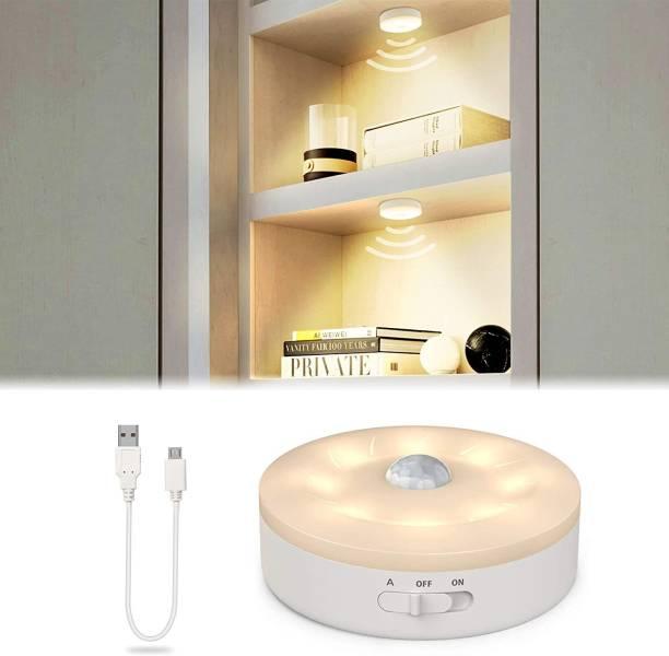 BANQLYN Wireless Smart Under Cabinet Lighting Warm White Led Night Light for Bedroom Stair Hallway Decor Motion Sensor Light