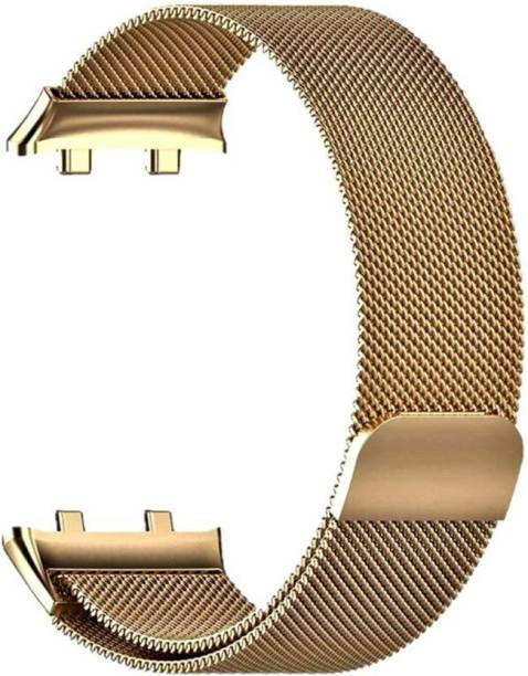 V-TAN Stainless Steel Mesh Milanese Loop with Adjustable Magnetic Closure 46mm Band Strap for Oppo Watch 46mm Smart Watch Strap