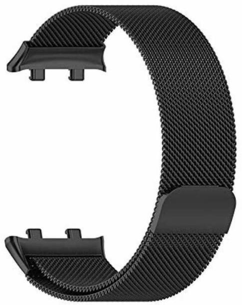 V-TAN Stainless Steel Mesh Milanese Loop with Adjustable Magnetic Closure 41mm Band Strap for Oppo Watch 41mm Smart Watch Strap