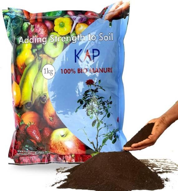 KAP Organic Bio Manure for Home and Kitchen Garden Plants Manure