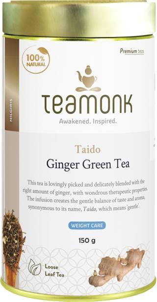 Teamonk Taido Ginger Green Tea Tin