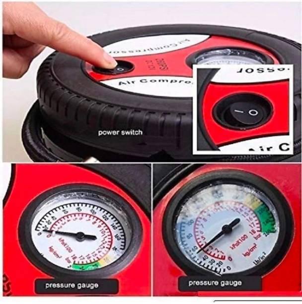Medetai 260 psi Tyre Air Pump for Car & Bike