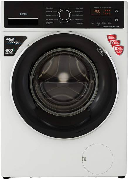 IFB 6.5 kg 5 Star 3D Wash Technology, Gentle Wash, In-built heater Fully Automatic Front Load with In-built Heater White