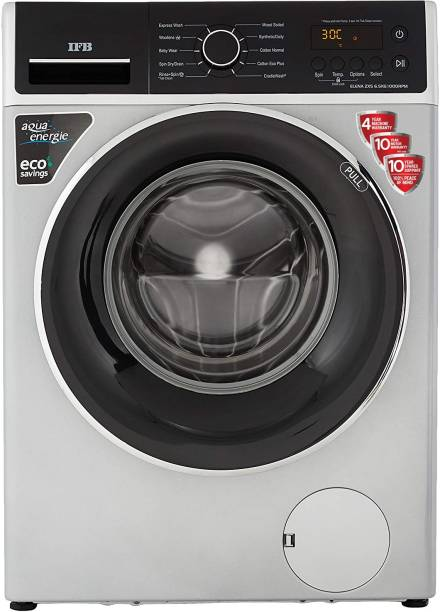 IFB 6.5 kg 5 Star 3D Wash Technology, Gentle Wash, In-built heater Fully Automatic Front Load with In-built Heater Silver