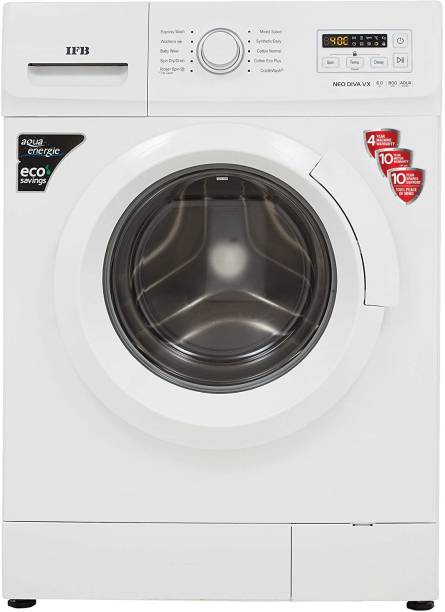 IFB 6 kg 5 Star Gentle Wash, Aqua Energie, Laundry Add, In-built heater Fully Automatic Front Load with In-built Heater White