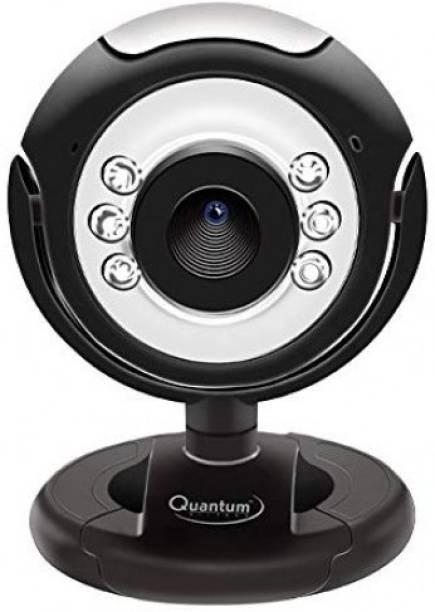QUANTUM QHM495LM Night Vision Webcam (Black)  Webcam