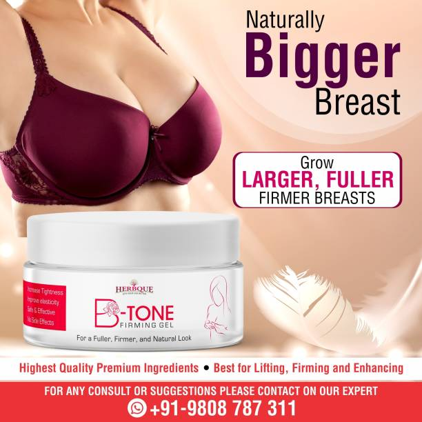 herbque B-Tone Firming Gel for Develop Breast Size Pack of 1