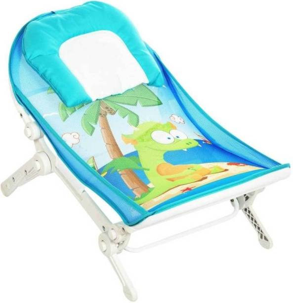 Maanit Jungle Tales Baby Bather for newborn & infants, Compact & Foldable, 0-36 months Baby Bath Seat