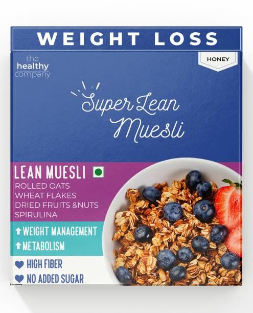 THE HEALTHY COMPANY SUPER LEAN Muesli ( 300g )- Muesli, Cinnamon, Spirulina - Weight Loss, Diabetes, PCOD/PCOS